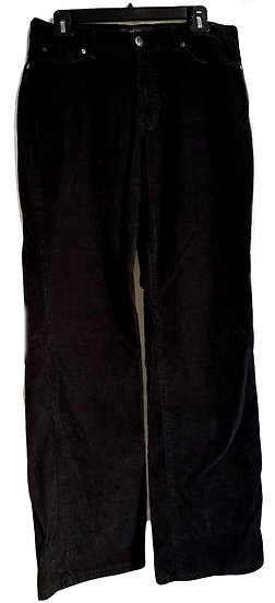 Nine West Black Corduroy Jeans