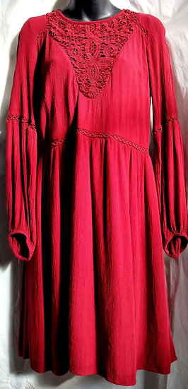 American Eagle Burgundy Dress