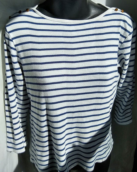 Ann Taylor Stripped Top