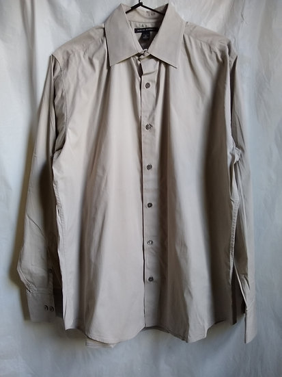 Banana Republic Tan Button-Up