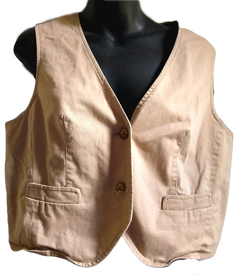 The Limited Tan Vest