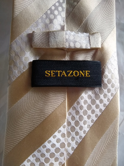 Gold Stripped Tie