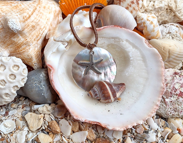 Handmade Natural Shell Necklace