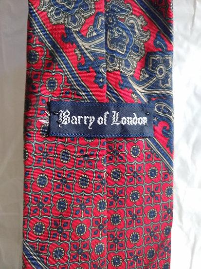 Red Pattern Tie