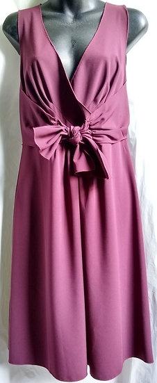 Ann Taylor Burgundy Dress
