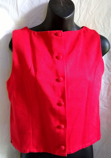 Limited Bright Red Blouse
