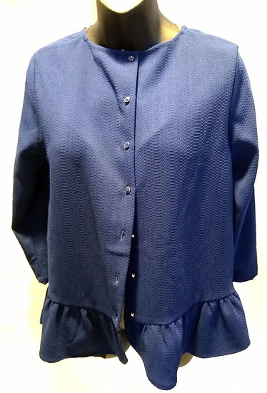 Navy Blue Blouse Size Small