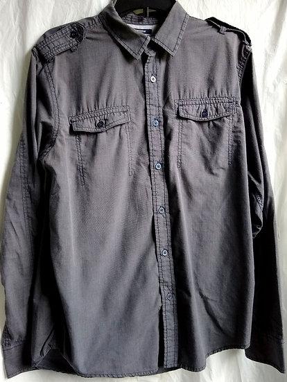American Rag Grey Button-Up