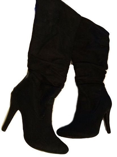 High Calf Boot Heels Size: 7.5