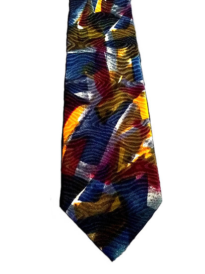 Men's Abstract Silk Tie