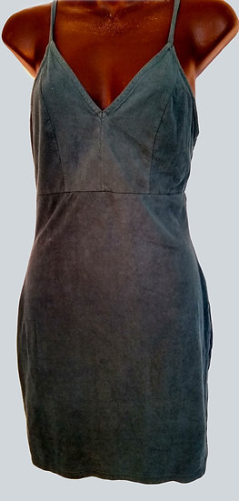 Blue Suede Small Dress