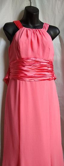 David's Bridal Pink Dress