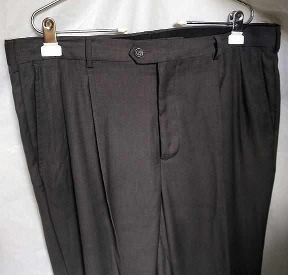 Men's Dark Grey Slacks