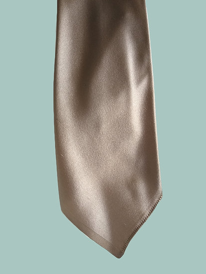 Gold Young Adult Skinny Tie