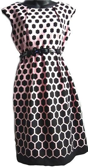 Pale Pink Polka Dot Dress 4P