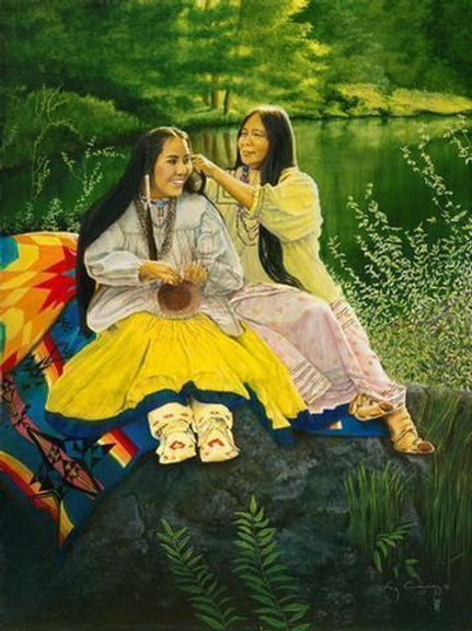"""""""Apache Mother's Love"""""""