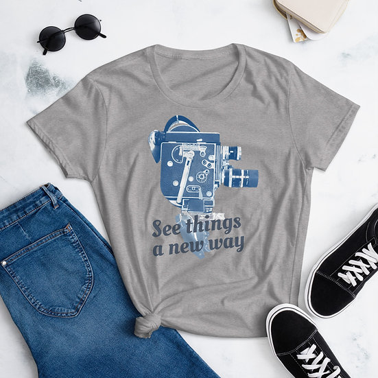 See things a new way women's tee