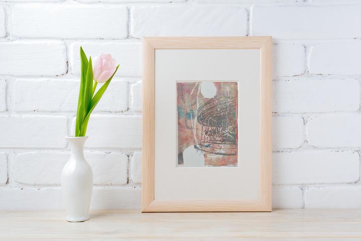 Pink Carousel Print