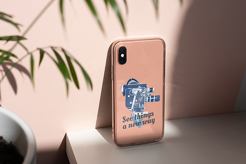 See things a new way iphone case