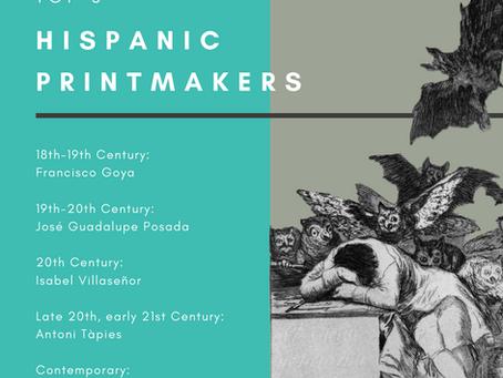 Top 5 Hispanic Printmakers