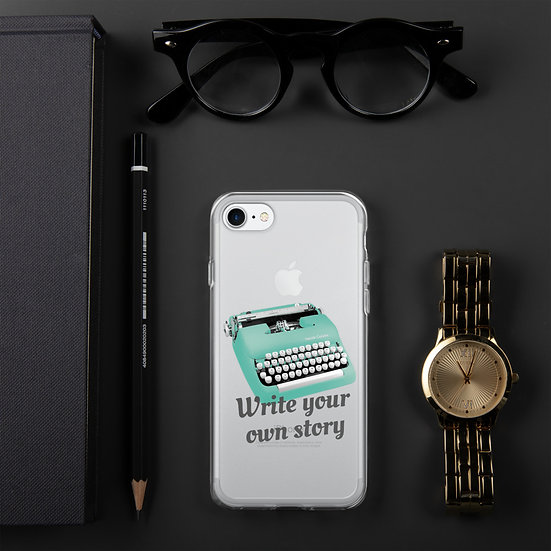 Write your own story iPhone Case