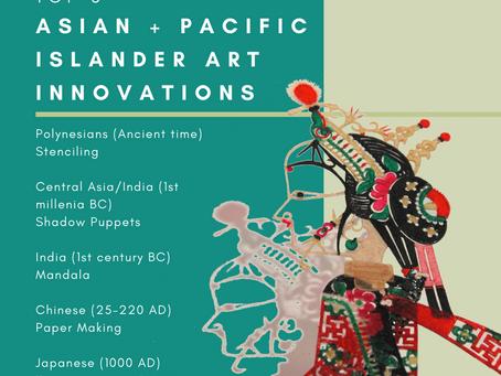 Top 5 Asian + Pacific Islander Art Innovations