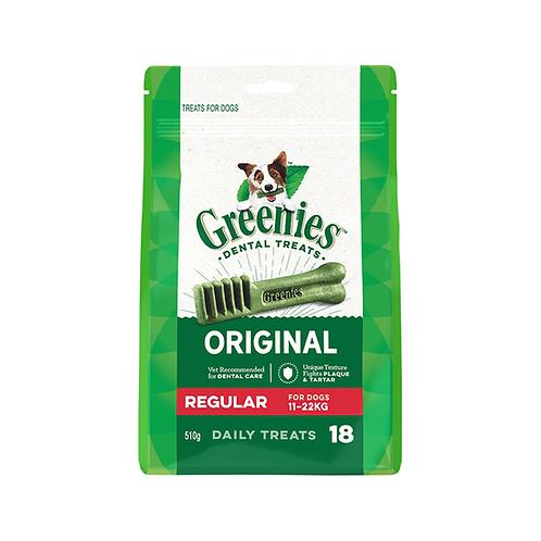 Greenies Dental Treats, Regular, 18oz