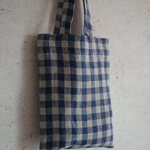 Linen Mini Tote Bag (4colors)