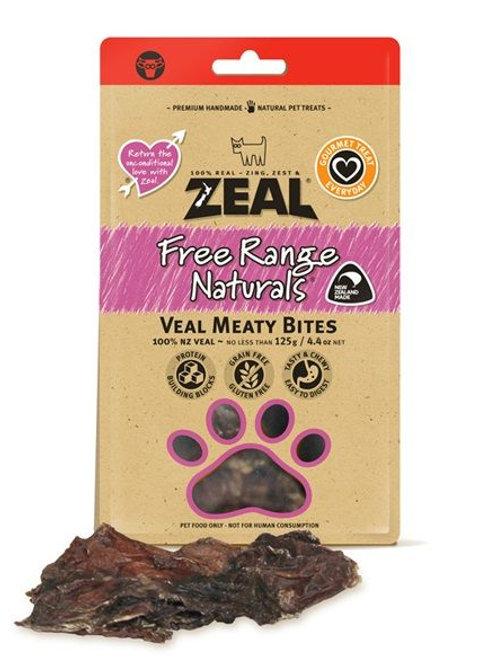 Zeal Veal MeatyBites 125g [for dog]