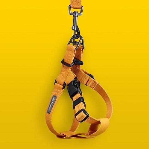 Anti Shock Premium Harness - Mustard