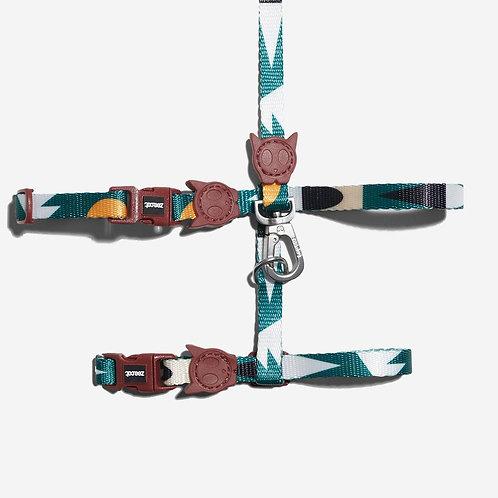 Zeecat- Cat Harness with Leash Set (UMBER)