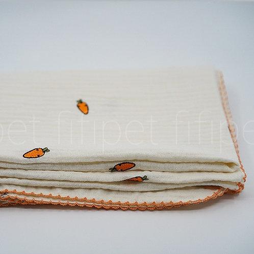 Gauze blanket(carrot)