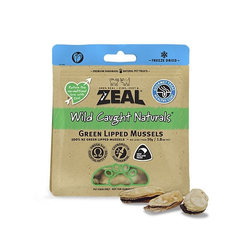 Zeal Green Lipped Mussels 50g [for cat/dog]