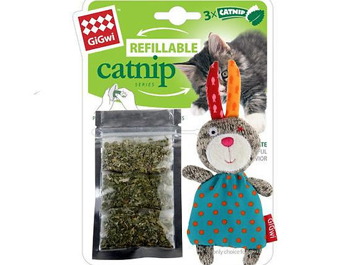 Refillable Catnip - Rabbit