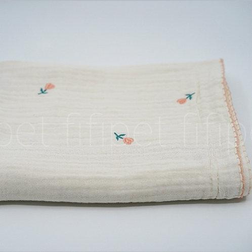 Gauze blanket(flower)