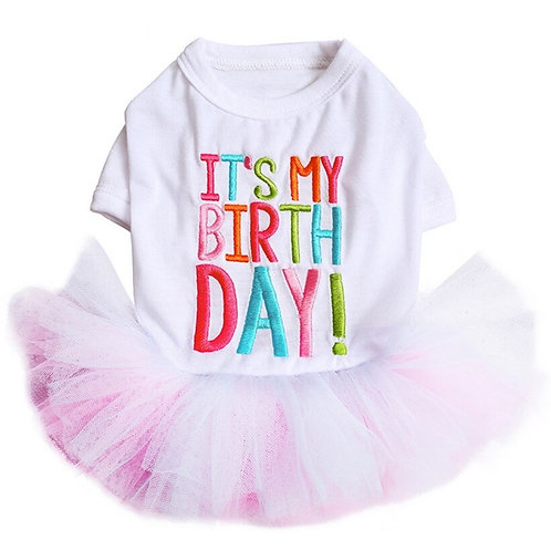"""It's my birthday"" Dress"