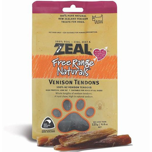 Zeal Vension Tendons 125g [for dog]