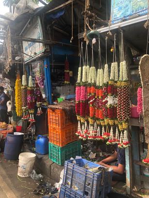 Garlands in Mumbai