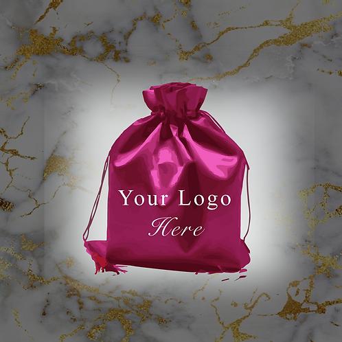 100 Satin Hair Bags