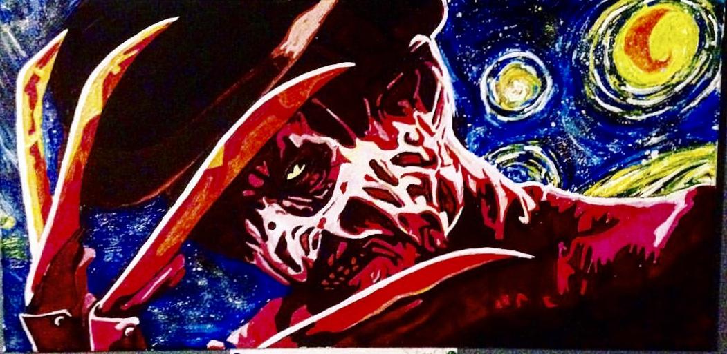 Starry Night on Elm's Street