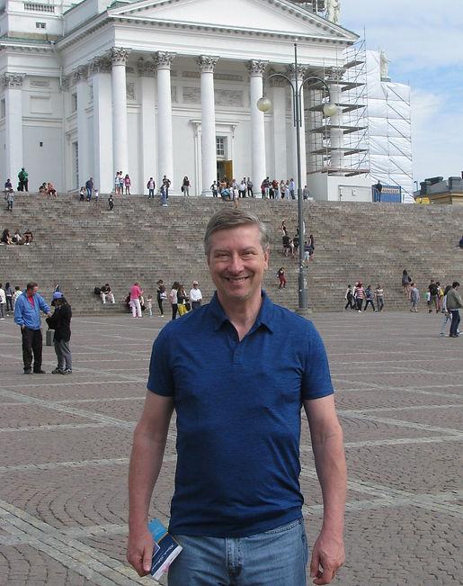 Daniel Molyneux, American Author, Helsinki, Finland