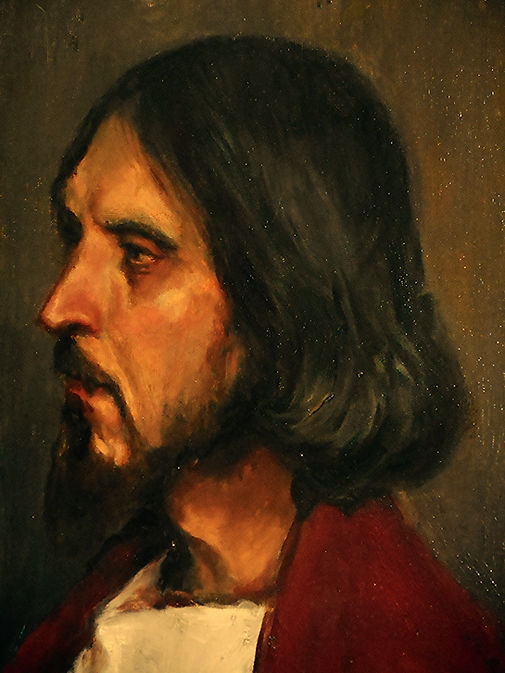 Jesus Christ, Ilya Repin, Trinity Lutheran Church
