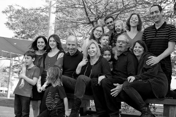 צילומי משפחה בשחור לבן