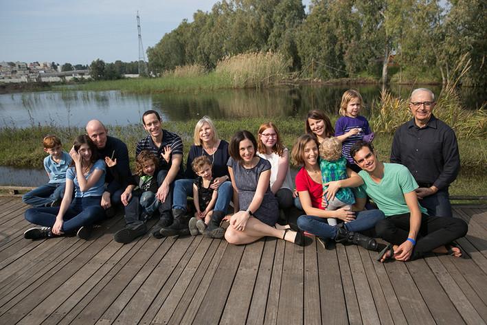 תצלום משפחתי מקצועי