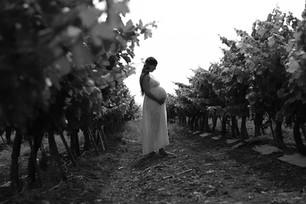 צילומי היריון ומשפחה בשחור לבן