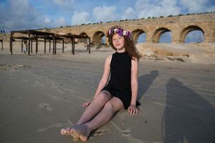 צילומי בנות מצווה בים
