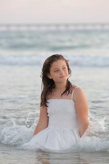 צילומי בת מצווה בחוף הים