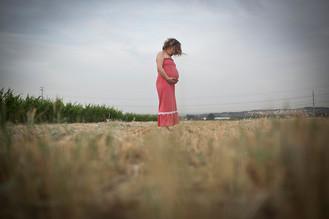 צילומי היריון בטבע עם לירון ברייר דנציגר צילום
