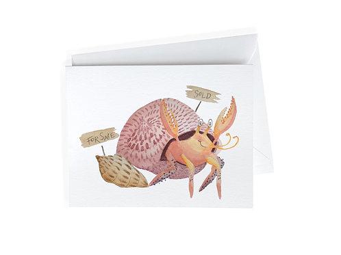 Hermit Crab's New Home