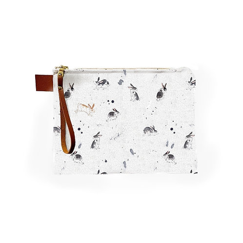 Inky Rabbits Pouch